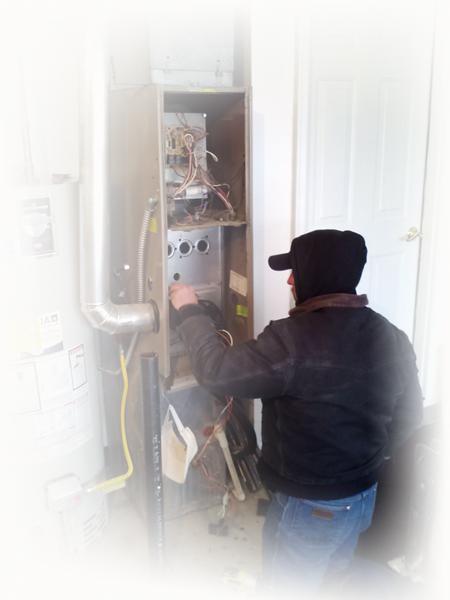 Meridian furnace repair