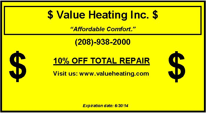 Ac Repair Coupons Save Money On Your Next Ac Repair Boise